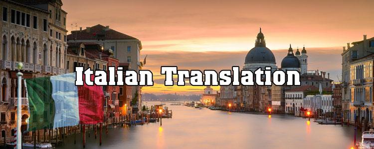 Dịch thuật và công chứng tiếng Ý
